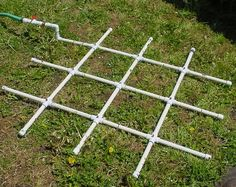 PVC Watering Grid. Build it yourself.