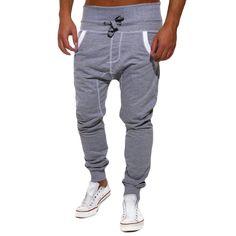 >> Click to Buy << New Brand Mens Clothes Solid Color Men Sweatpants Hip Hop Harem Pants Casual Pant Men Elastic Waist Trousers #Affiliate