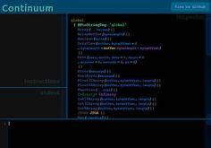 Continuum - A #JavaScript virtual machine built in JavaScript