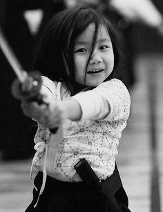 Little cute samurai...