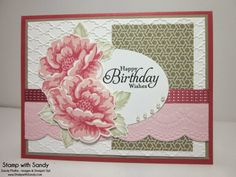 Stamp With Sandy: Stippled Blossoms, CQC226 & PPA189