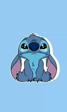 """Search result images for """"sad stitch drawing"""" Lelo And Stitch, Lilo Y Stitch, Cute Stitch, Little Stitch, 626 Stitch, Disney Stitch, Disney Phone Wallpaper, Wallpaper Iphone Cute, Disney Drawings"""