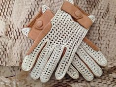 Vintage Driving Gloves by socallrare on Etsy, $27.38