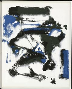 Joan Mitchell. Plate (folio 7) from The Poems. 1960