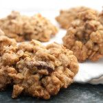 Yum! Tahini oatmeal cookies- phase 3. two cookies count at healthy fat and half of a grain