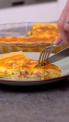 Quiches, Ma Pizza, Quiche Lorraine, Lasagna, Macaroni And Cheese, Ethnic Recipes, Kitchen, Food, Savory Snacks