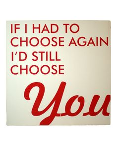 Take a look at this Cream & Red 'Choose Again' Wall Art by Vinyl Crafts on #zulily today!