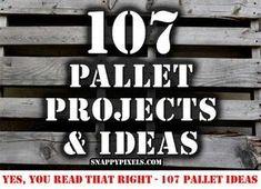 En un esfuerzo por llevar todas nuestrasideas o proyectos de palets de madera en una sola página , ospresentamos 107 Proyectos e Ideas para provocar que la creatividad fluya o inspirarte para crear nuevosproyectos. Hemos clasificado
