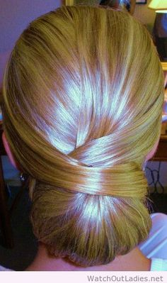 Elegant low bun