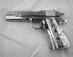 engraved, pretty guns