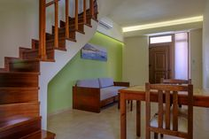 Two Bedroom Apartments - Oscar Suites & Village Two Bedroom Suites, Two Bedroom Apartments, 2 Bedroom Apartment, Oscar Hotel, Crete Chania, Kitchenette, Second Floor, Dining Area, Families