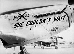 WWII Nose Art: She Couldn't Wait