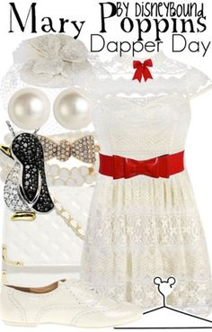Mary Poppins outfit by DisneyBound