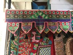 Toran | Gandaki, Nepal Nepal, Entrance, Tapestry, Curtains, Quilts, Blanket, Bed, Patterns, Hanging Tapestry