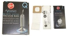 8 Hoover Platinum Hepa 4 Q And 4 I Vacuum Bags.