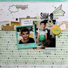 Sam @ 8 (April Hip Kit) - Melissa Vining