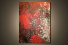 Evening Reds  2 ft x 15 ft Modern Abstract by NickReitenour, $39.00