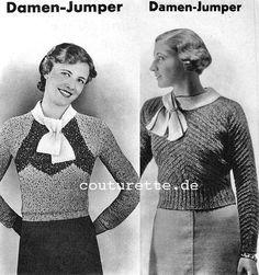 Vintage Pattern Files: 1930-х годов