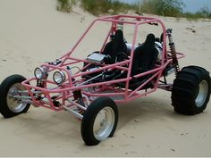 Riding Dune Buggy's with cousins Chuck and Patty - I have no idea if this looks like theirs at all.