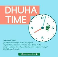 Dhuha time ! Doa Islam, Islam Quran, Islamic Inspirational Quotes, Islamic Quotes, Cool Words, Wise Words, Islamic Messages, Muslim Quotes, Prayer Quotes