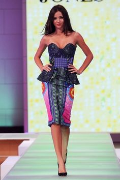 - Miranda Kerr Models for David Jones