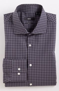 BOSS HUGO BOSS Sharp Fit Dress Shirt available at #Nordstrom