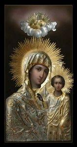 Sitka miraculous icon of the Mother of God. #God #Catholic #Christianity #Virgin #Orthodox #devotion #prayer #art #icons