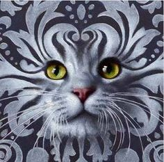 Маринаdieuil Vynil, Hyper Realistic Paintings, Oriental Cat, Cat Whiskers, All About Cats, Cat Drawing, Pretty Cats, Cat Design, Cat Tattoo