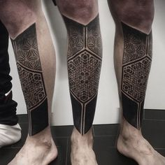 Ornamental tattoo on calves by Ivan Hack - Katie S. Leg Tattoo Men, Calf Tattoo, Arm Tattoos For Guys, Tattoos For Women, Body Tattoos, Life Tattoos, Sleeve Tattoos, New Tattoos, Maori Tattoos