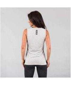 Versa Forma Motif Tia Vest Light Grey-Versa Forma-Gym Wear