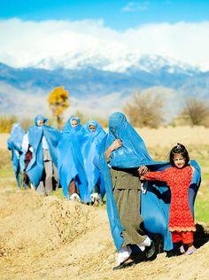 portrait-afghane-burka