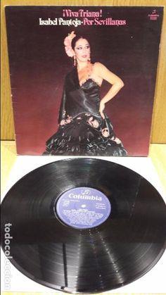 ISABEL PANTOJA. VIVA TRIANA - POR SEVILLANAS. LP-GATEFOLD / COLUMBIA - 1982 / MBC. ***/***