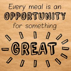 Serve greatness. #WordsToCookBy