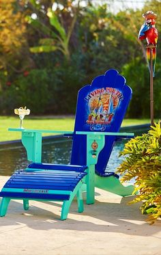 Our Margaritaville Adirondack Furniture Features Everything You Love About  Classic Adirondack Furniture But With A Tropical