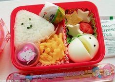 On the subject of bento . The Japanese bento 弁当 is more than a mere lunch box, and I like to call it a work of art. Cute Bento Boxes, Bento Box Lunch, Lunch Snacks, Bento Food, Bento Lunchbox, Box Lunches, Healthy Lunches, Healthy Foods, Healthy Eating