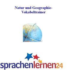 Englisch Natur und Geographie-Vokabeltrainer Sprachenlernen24, Sprachkurse