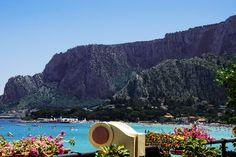 Italy Palermo  Mondello beach