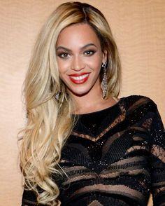 Beyonce blonde hair dye on black skin
