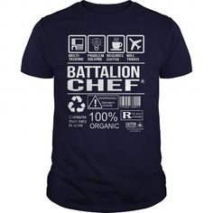 AWESOME TEE FOR BATTALION CHEF T-SHIRTS, HOODIES, SWEATSHIRT (22.99$ ==► Shopping Now)