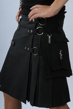 kilts for men | Gothic Kilts for Men | Upon a Midnight Dreary