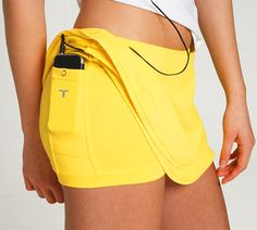 Running Skirts with built-in Shorts and phone pocket