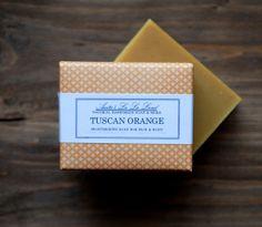 PREORDER  Tuscan Orange Soap  Big Bar Sweet by AnitasLaLaLand, $7.00