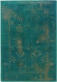 Sphinx by Oriental Weavers - Sphinx By Oriental Weavers Revival 3690d Teal Area Rug #110304