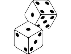 Dice games for learning math. Playing a game is so much more fun than worksheets and you will find that your children learn math fact just as quickly if not faster by playing games. Tattoo Lace, Dessin Old School, Dice Tattoo, Poker Tattoo, Stick And Poke, Oldschool, Dice Games, Math Games, Number Games