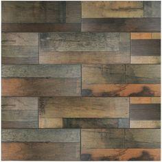 "Found it at Wayfair - Lena 7.88"" x 23.63"" Ceramic Wood Tile in Mix"