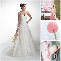 Soft pink wedding theme www.honeymoonshop.nl