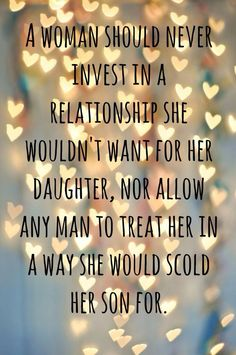 I suppose this is EXACTLY the kind of relationship she wants for her daughters because this is what she is showing them. And her son sees it's alright to treat women this way. So if a man cheats on her daughters she can encourage them to stay and work it out. And pat her son on the back if he ever lies and cheats. Awesome!!!