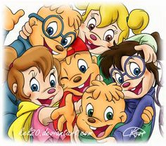 alvin and the chipmunks with the Chipettes