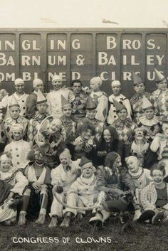 Clown Congress - who knew?