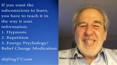 Bruce Lipton, Rewrite Subconscious Programming Quickly - ShiftingTV